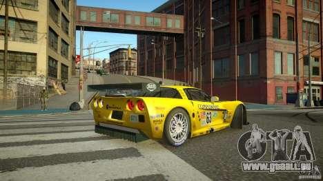 Chevrolet Corvette C6-R v2.0 für GTA 4 hinten links Ansicht