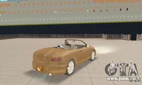 Chrysler Cabrio pour GTA San Andreas laissé vue