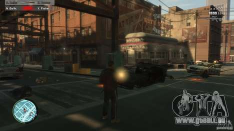 First Person Shooter Mod pour GTA 4 septième écran