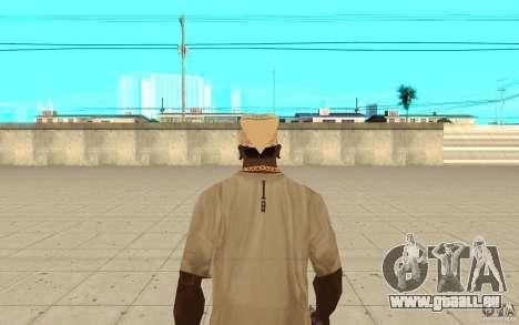 Bandana yendex pour GTA San Andreas troisième écran