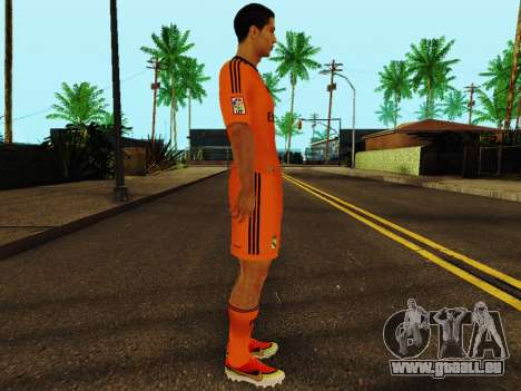 Cristiano Ronaldo v3 pour GTA San Andreas deuxième écran