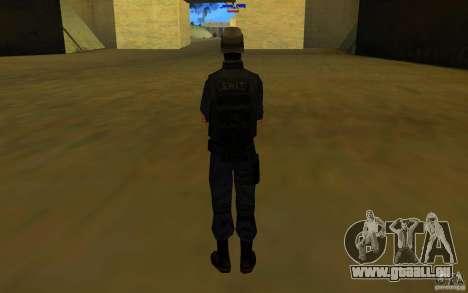 HQ skin S.W.A.T pour GTA San Andreas quatrième écran