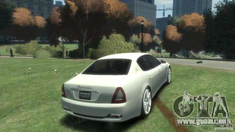 Maserati Quattroporte pour GTA 4 est un droit