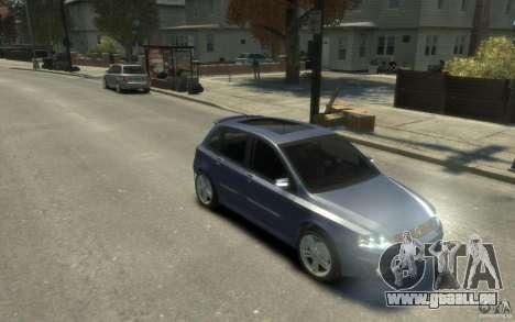 Fiat Stilo Sporting 2009 für GTA 4 Rückansicht