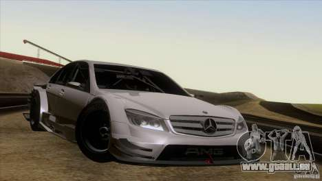 Mercedes Benz C-Class Touring 2008 pour GTA San Andreas