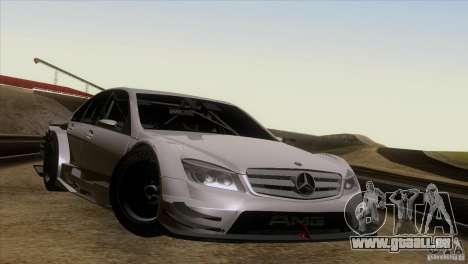 Mercedes Benz C-Class Touring 2008 pour GTA San Andreas