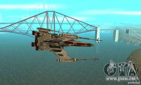 X-WING de Star Wars v1 pour GTA San Andreas