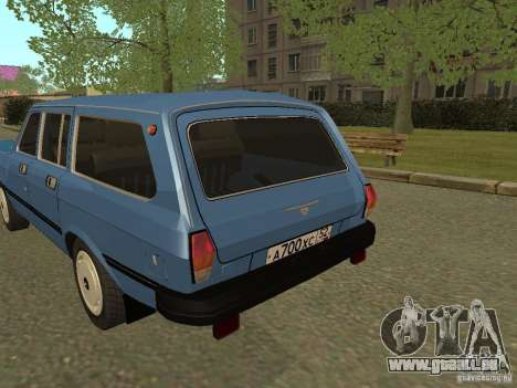 GAZ Wolga 31022 für GTA San Andreas rechten Ansicht