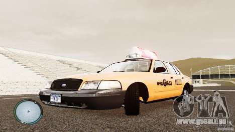 Ford Crown Victoria 2003 NYC Taxi pour GTA 4