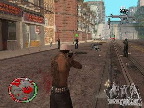 GTA IV HUD v4 by shama123 pour GTA San Andreas