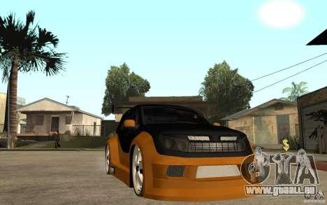 Dacia Duster Tuning v1 für GTA San Andreas Rückansicht