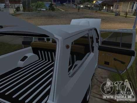 GAZ 24-02 pour GTA San Andreas vue de droite