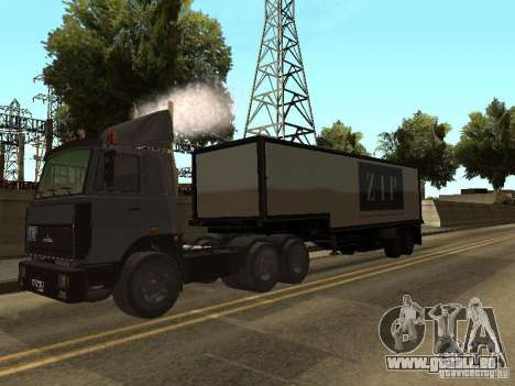 Camion MAZ 5336 pour GTA San Andreas vue de droite