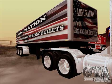 Remorque, Peterbilt 377 pour GTA San Andreas