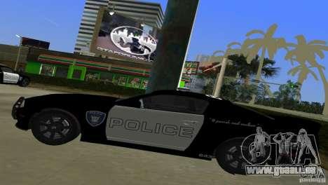 Saleen S281 Barricade 2007 für GTA Vice City Rückansicht