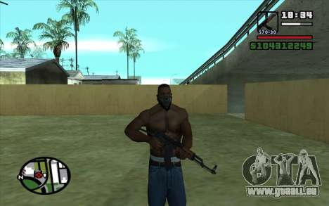 AKMS pour GTA San Andreas