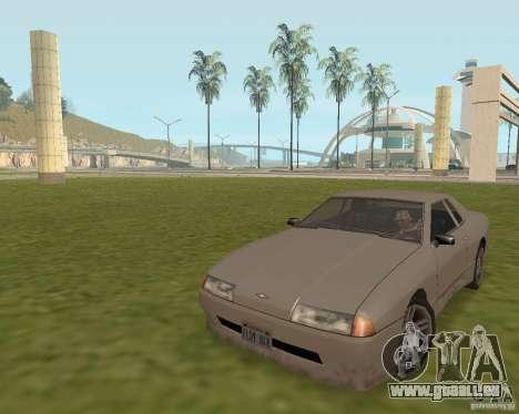 Issue de secours voiture pour GTA San Andreas deuxième écran