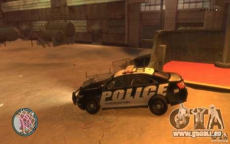 Ford Taurus Police für GTA 4 rechte Ansicht
