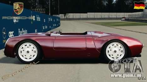 Porsche 550 A Spyder 1956 v1.0 pour GTA 4 est une gauche