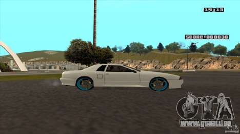 Drift Elegy by KaLaSh pour GTA San Andreas vue de droite