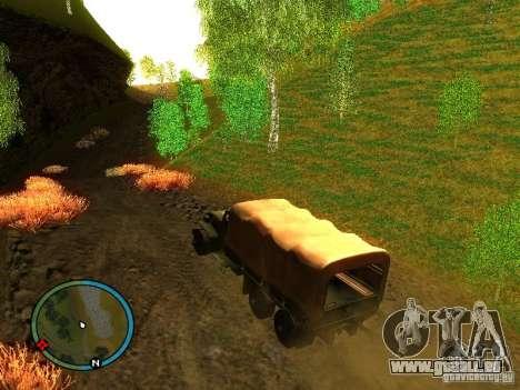 Millitary Truck from Mafia II für GTA San Andreas linke Ansicht