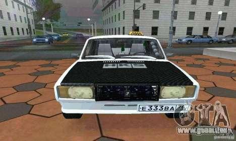 ВАЗ 21074 Light Tuning v2.0 pour GTA San Andreas sur la vue arrière gauche