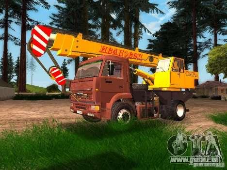 KAMAZ 6520 KS3577-3 k Ivanovets pour GTA San Andreas