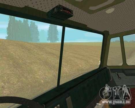 KAMAZ-6350 pour GTA San Andreas vue arrière