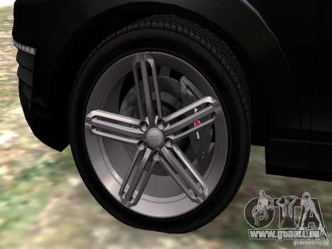 Audi Q7 V12 TDI Quattro Final pour GTA 4 est une vue de dessous