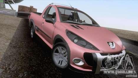 Peugeot Hoggar Escapade 2010 pour GTA San Andreas