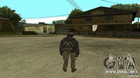 Captain Price pour GTA San Andreas troisième écran