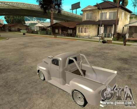 Ford F1 Pickup Hotrod 49 für GTA San Andreas linke Ansicht