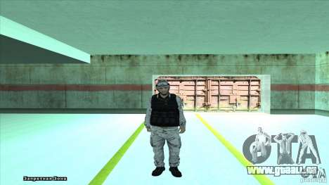 Army Soldier v2 pour GTA San Andreas