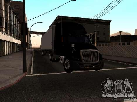 International Prostar pour GTA San Andreas sur la vue arrière gauche