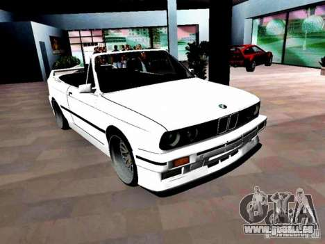 BMW M3 E30 Cabrio pour une vue GTA Vice City de la droite