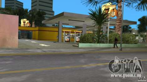 Shell Station für GTA Vice City fünften Screenshot