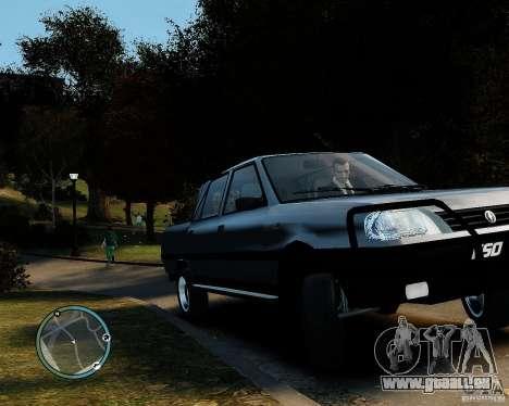 FSO Polonez Analog 4wd pour GTA 4 Vue arrière de la gauche