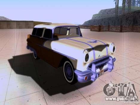 Pontiac Safari 1956 pour GTA San Andreas vue arrière