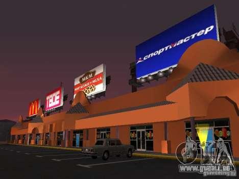 Boutique russe en Las Venturase pour GTA San Andreas quatrième écran