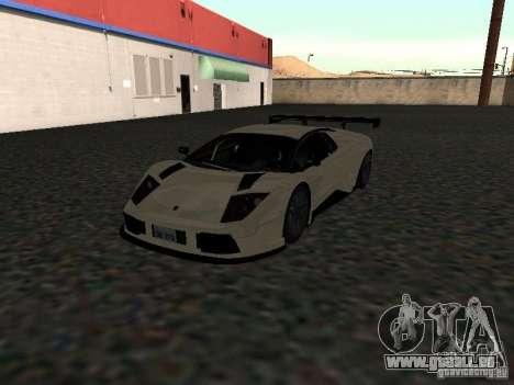 Lamborghini Murcielago R-GT pour GTA San Andreas vue de droite