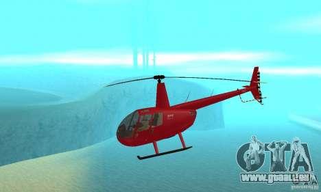Robinson R44 Raven II NC 1.0 1 de la peau pour GTA San Andreas