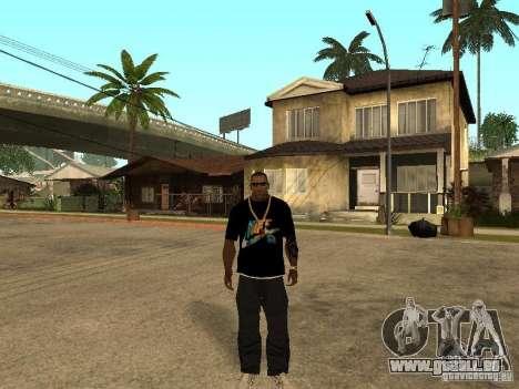 T-Shirt Nike für GTA San Andreas dritten Screenshot