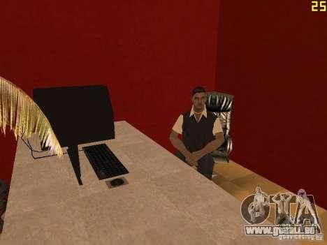 Ganton Cyber Cafe Mod v1.0 pour GTA San Andreas deuxième écran