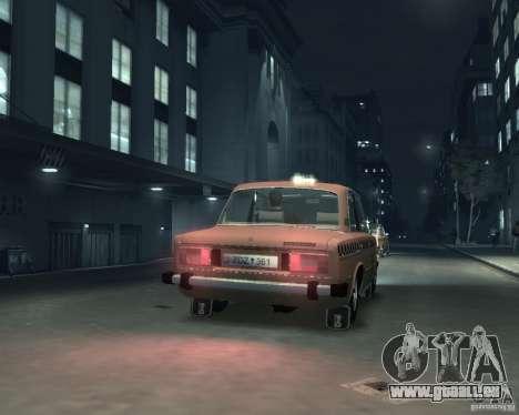 VAZ 2106 Taxi für GTA 4 rechte Ansicht
