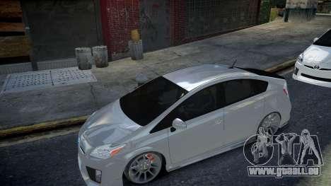 Toyota Prius III pour GTA 4 Vue arrière de la gauche