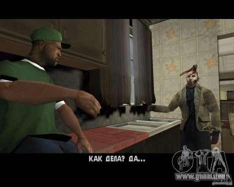 Jason Voorhees pour GTA San Andreas sixième écran