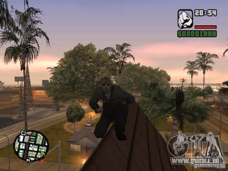 Jason Voorhees für GTA San Andreas her Screenshot