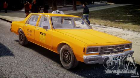 Chevrolet Impala Taxi v2.0 für GTA 4 Innenansicht