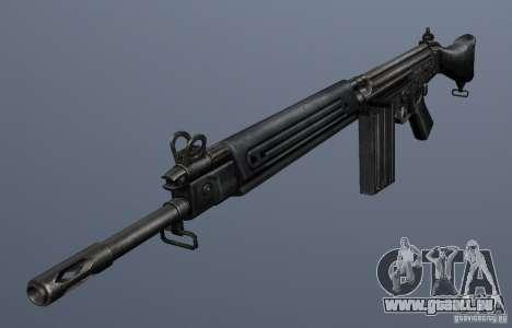 FN FAL für GTA San Andreas zweiten Screenshot