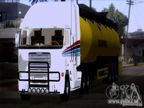 Freightliner Argosy Skin 3 pour GTA San Andreas vue arrière